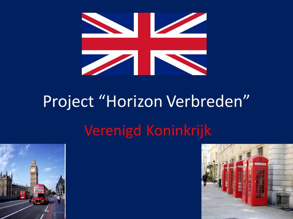 """Project """"Horizon Verbreden"""" Verenigd Koninkrijk"""