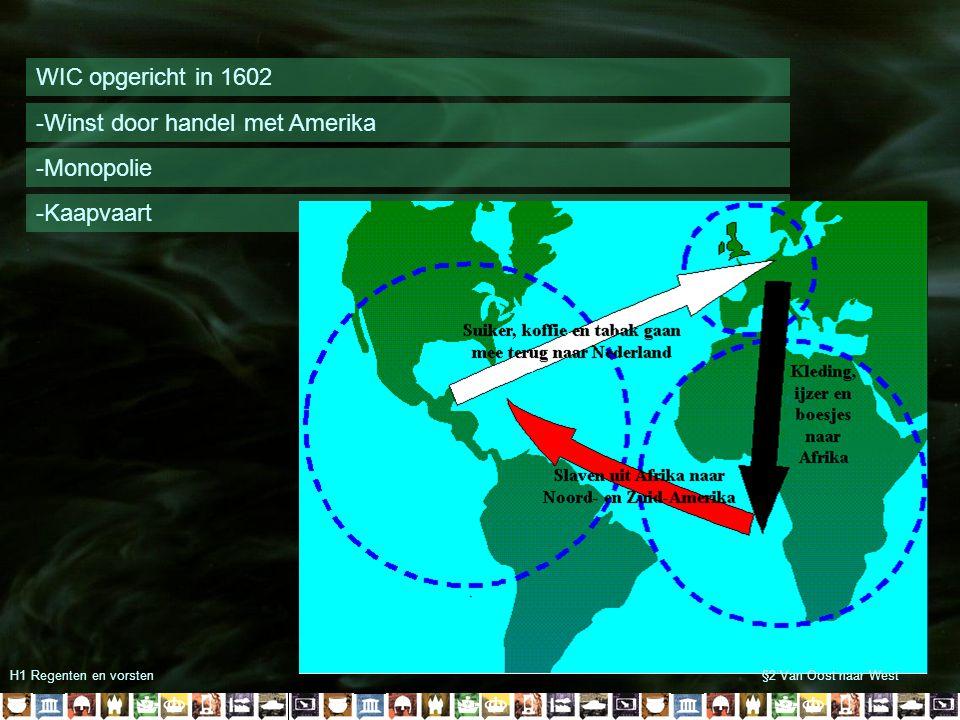 H1 Regenten en vorsten§2 Van Oost naar West