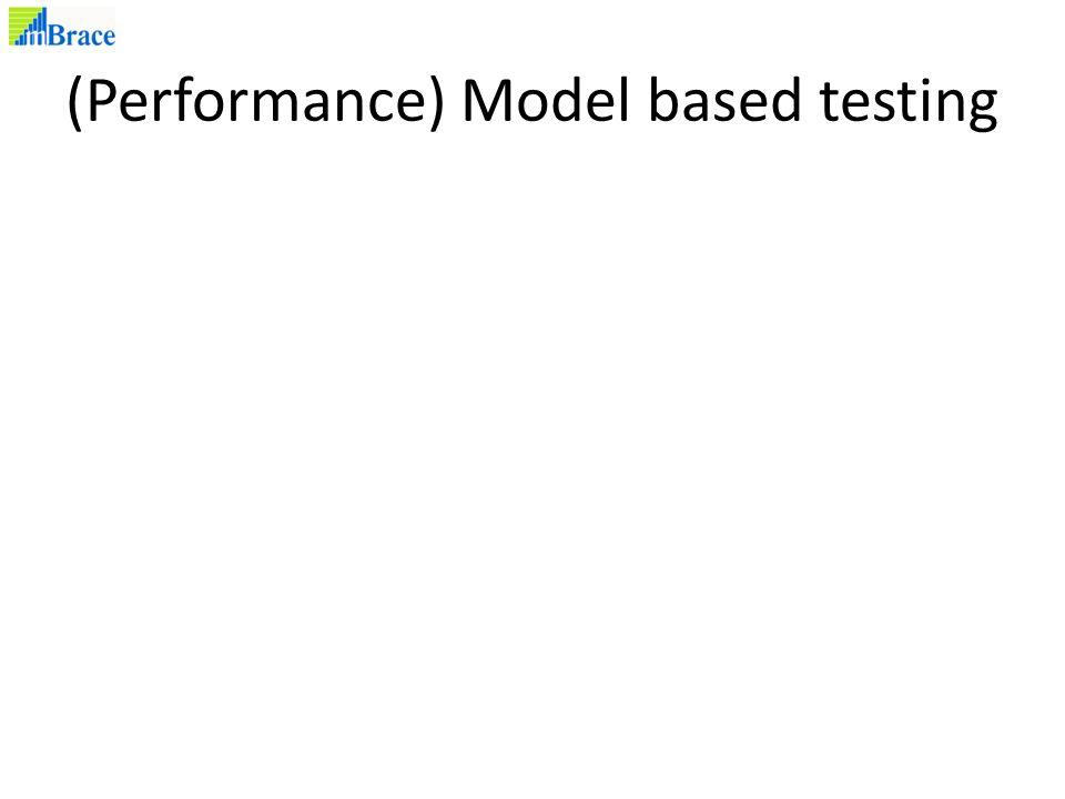 (Performance) Model based testing