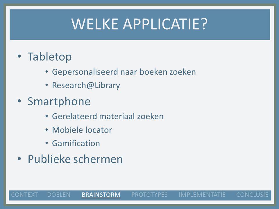 MOBIELE LOCATOR Mobiel => gemakkelijk mee te nemen.