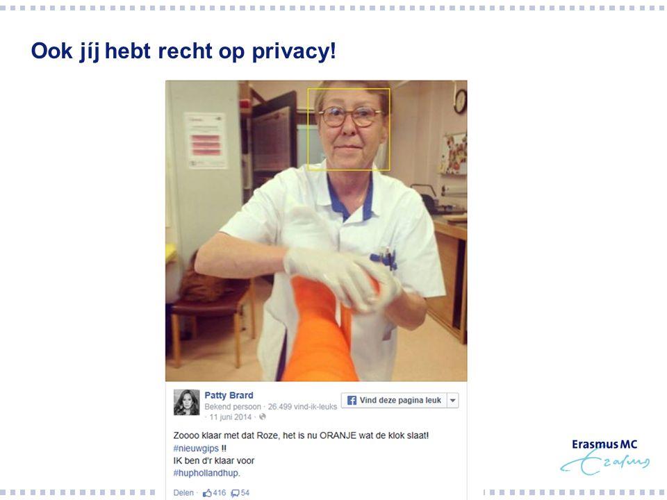 Ook jíj hebt recht op privacy!