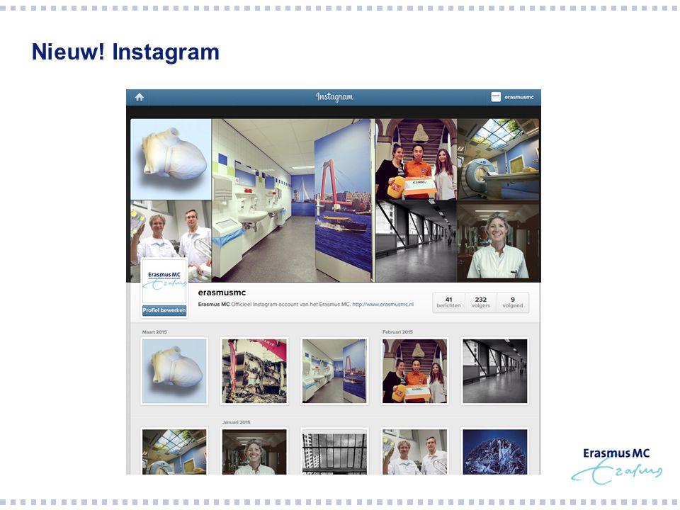 Nieuw! Instagram