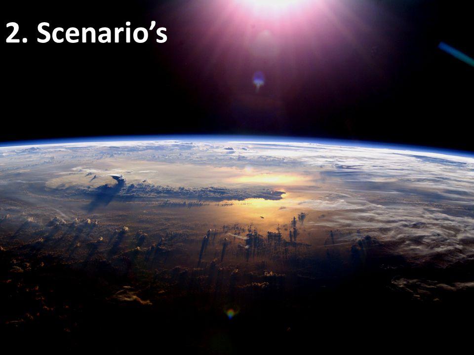 2. Scenario's