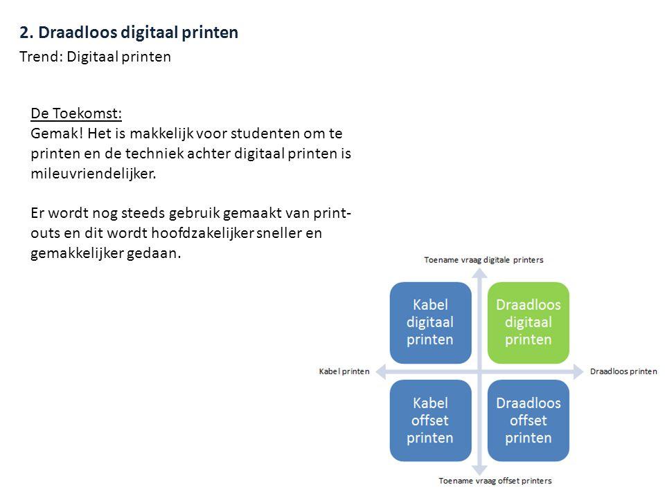 2. Draadloos digitaal printen De Toekomst: Gemak.