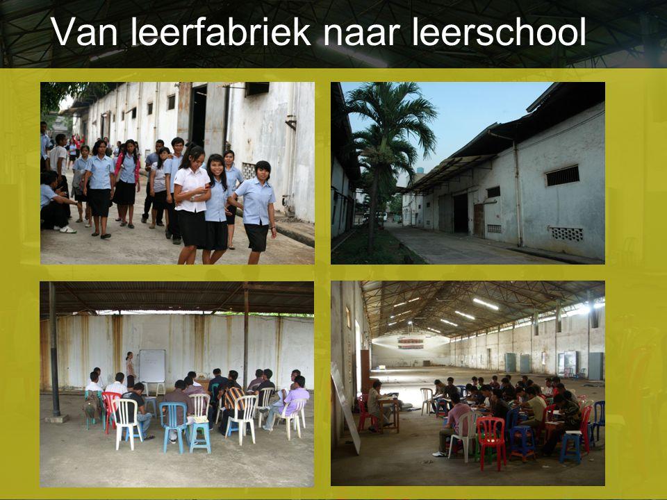 Van leerfabriek naar leerschool