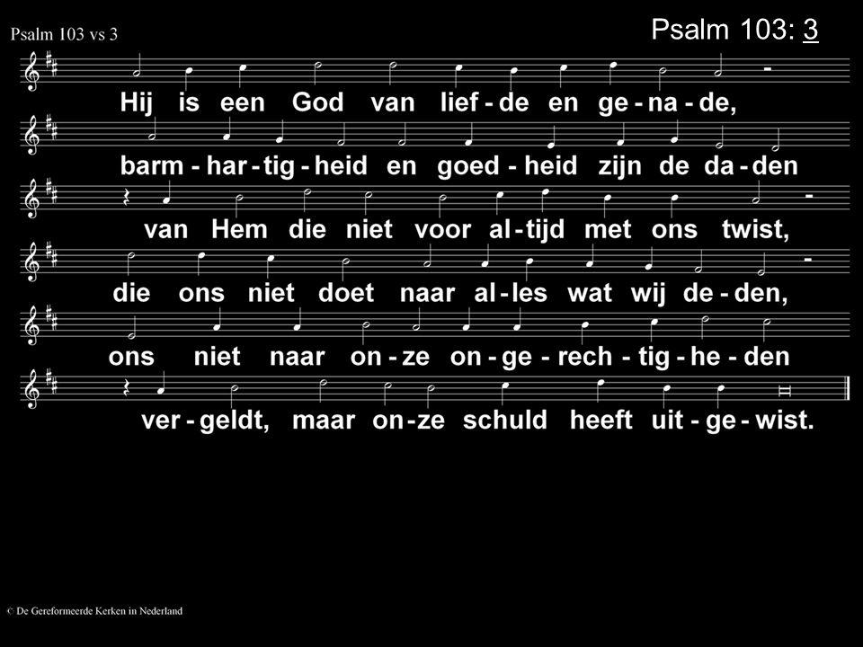 Psalm 103: 3