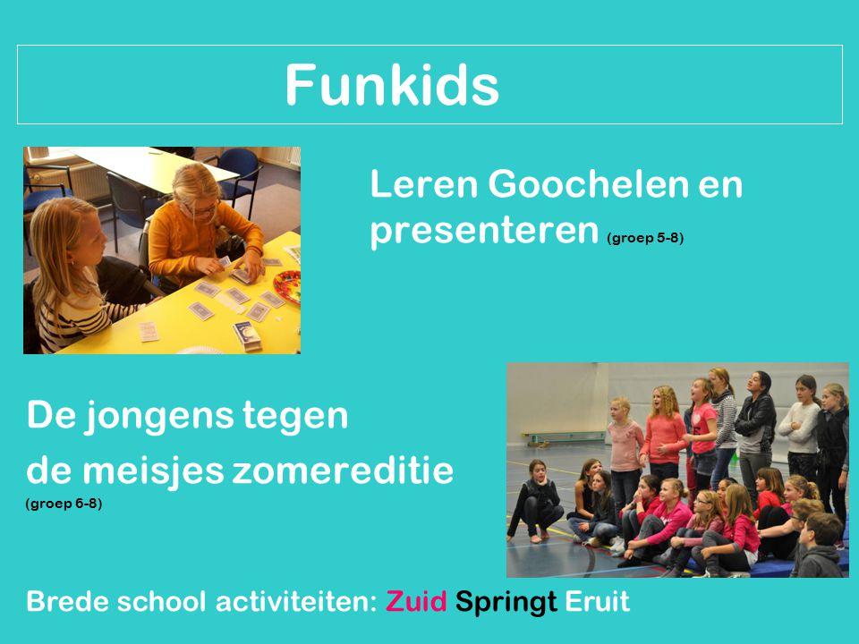 Knutselen: Thema boerderij Vaderdag Moederdag Brede school activiteiten: Zuid Springt Eruit Buurtbelang Grauwe Polder