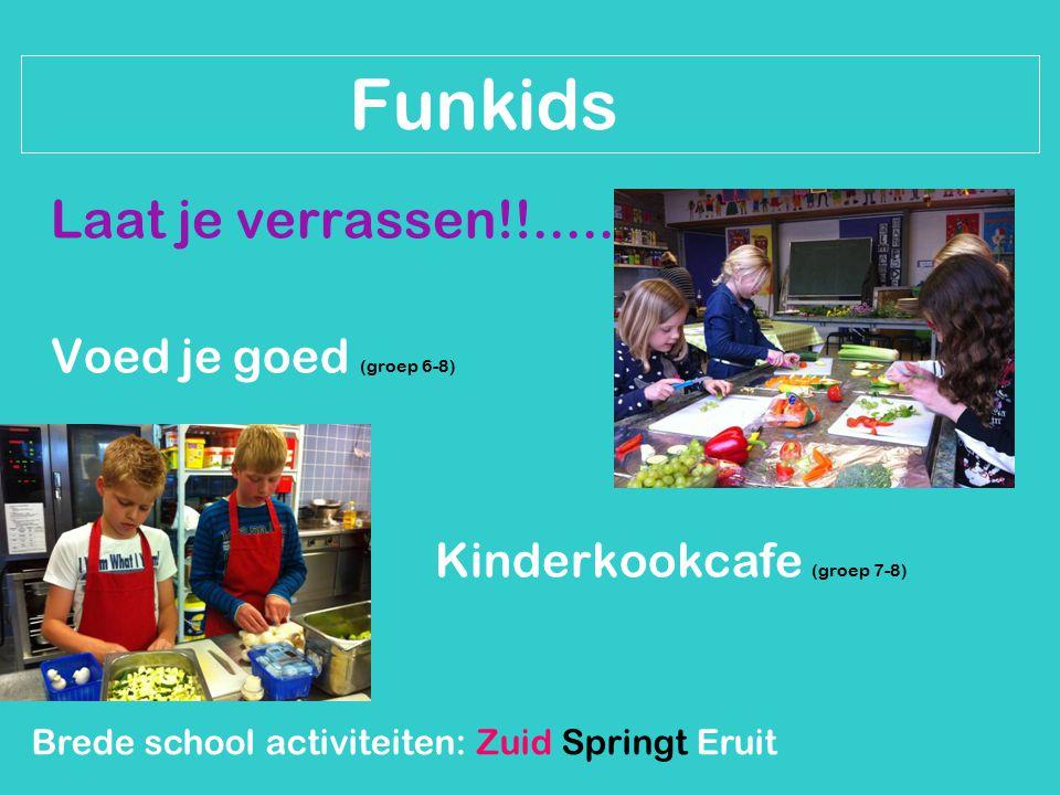 Brede school activiteiten: Zuid Springt Eruit Funkids Power (groep 7-8)