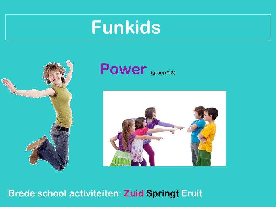 Brede school activiteiten: Zuid Springt Eruit Inschrijven.
