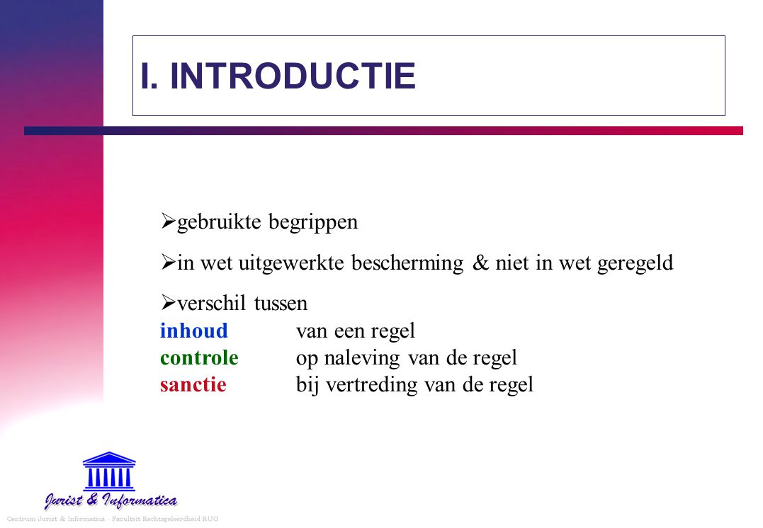 camera-typologie  typologie & het belang van een typologie 1.