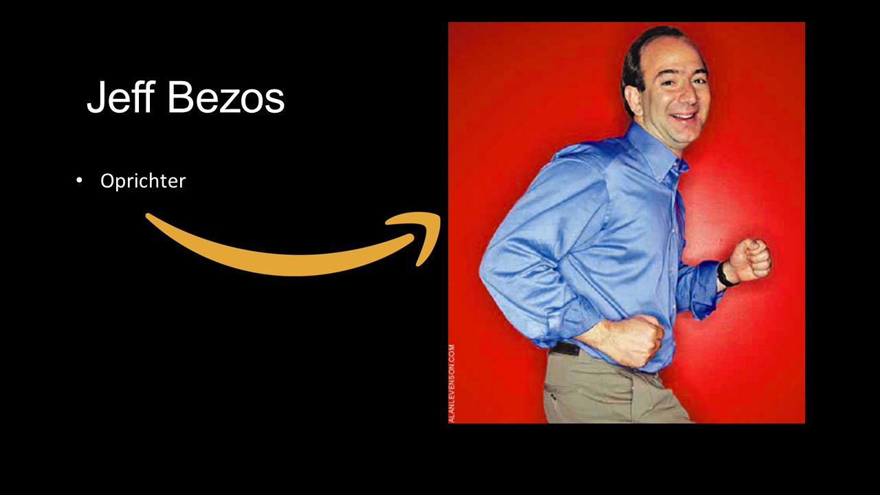 Jeff Bezos Oprichter