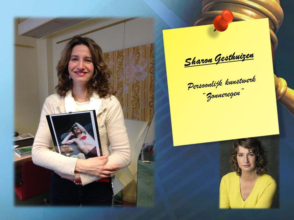 Sharon Gesthuizen Persoonlijk kunstwerk Zonneregen