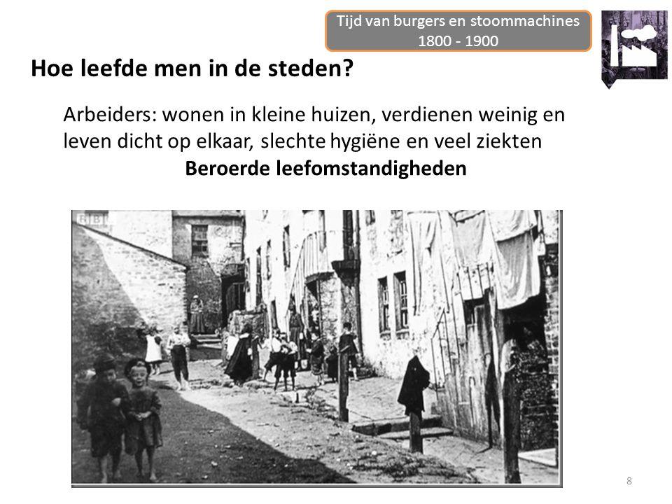 Tijd van burgers en stoommachines, 1800 - 1900 9