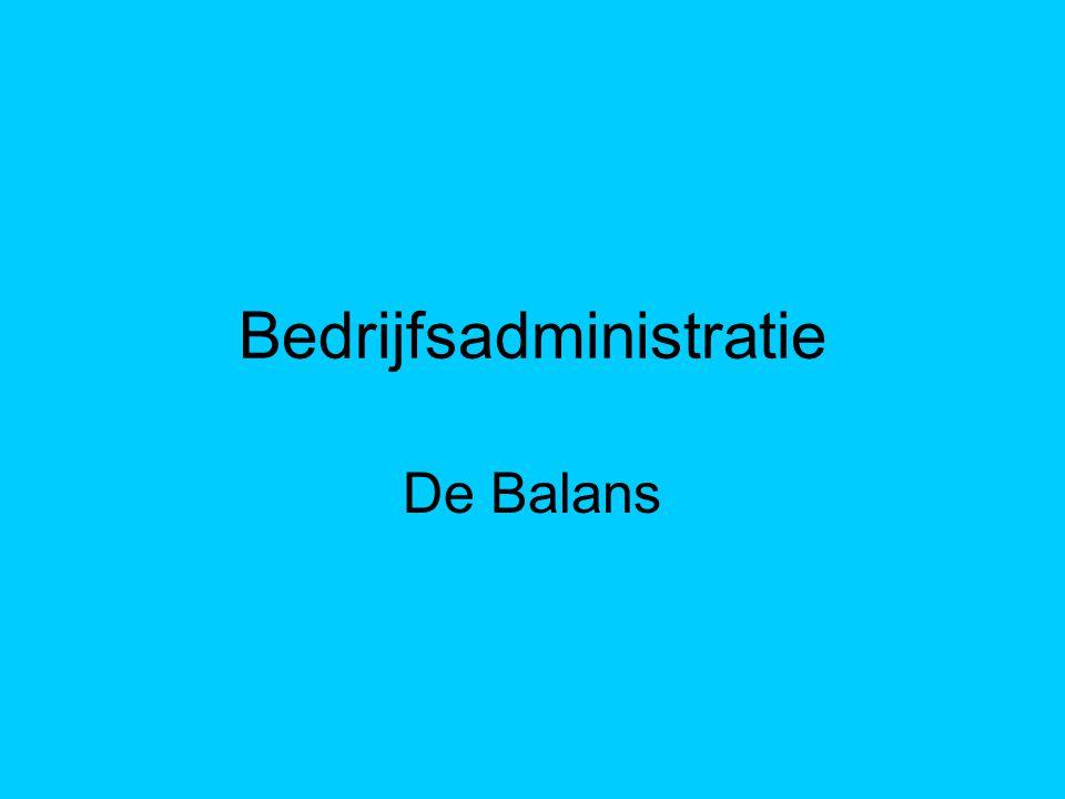 Bedrijfsadministratie De Balans