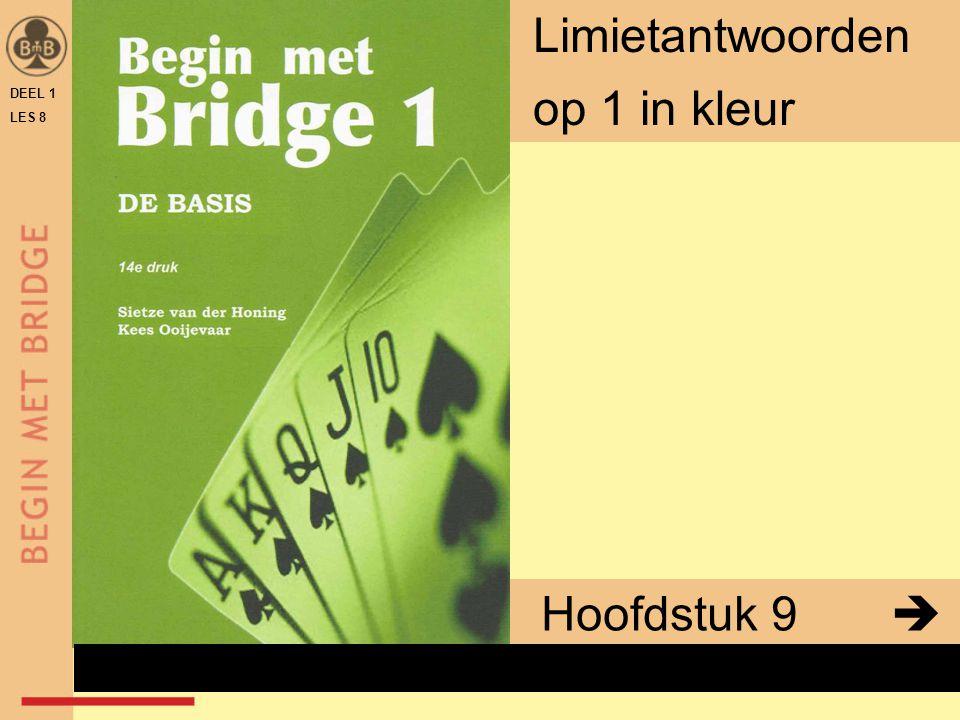 DEEL 1 LES 8 Limietantwoorden op 1 in kleur Hoofdstuk 9  x
