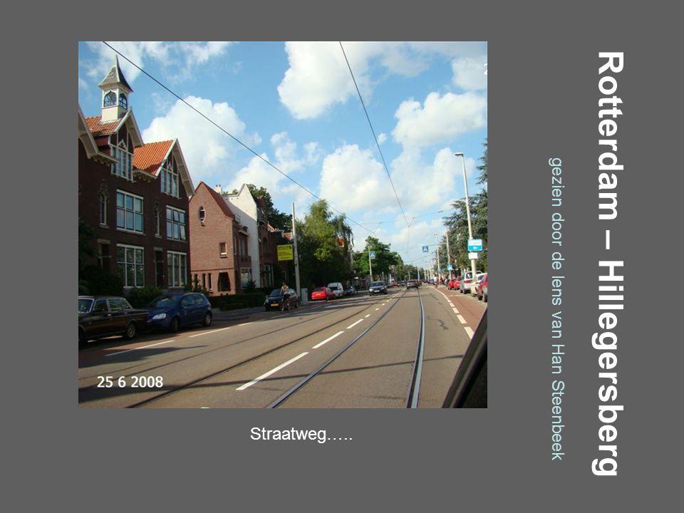 Rotterdam – Hillegersberg gezien door de lens van Han Steenbeek Molenlaan…..