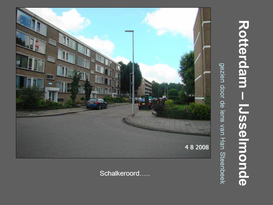 Rotterdam – IJsselmonde gezien door de lens van Han Steenbeek Prinsendijk…..