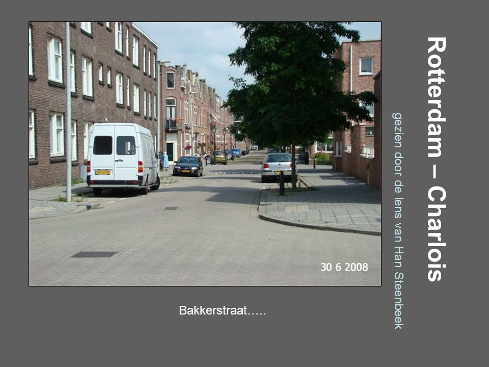 Rotterdam – Charlois gezien door de lens van Han Steenbeek Albert Plesmanweg…..