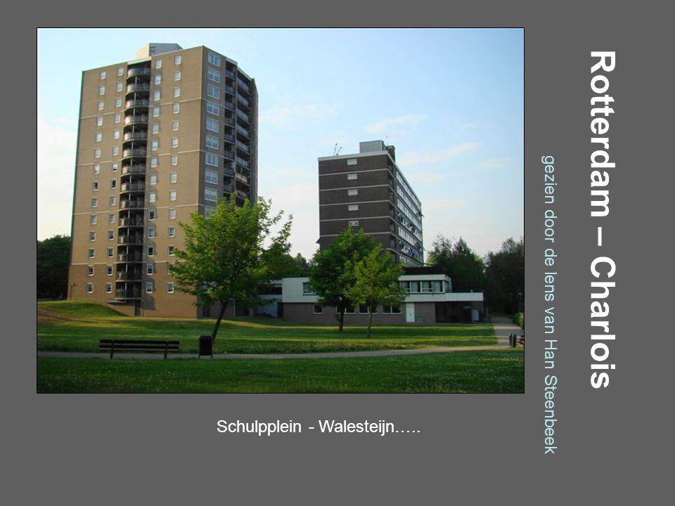 Rotterdam – Charlois gezien door de lens van Han Steenbeek Schilperoortstraat…..