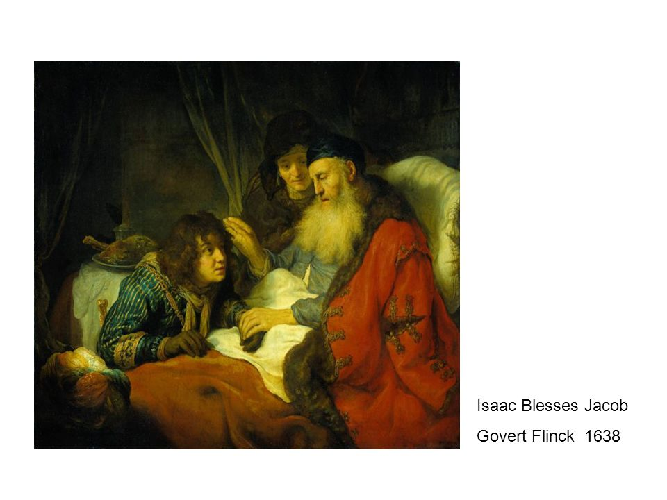 Isaac Blesses Jacob Govert Flinck 1638