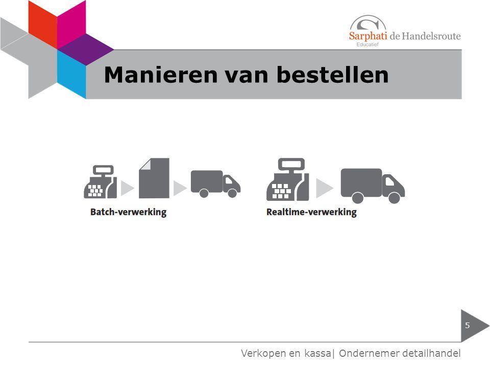 Manieren van bestellen 5 Verkopen en kassa| Ondernemer detailhandel