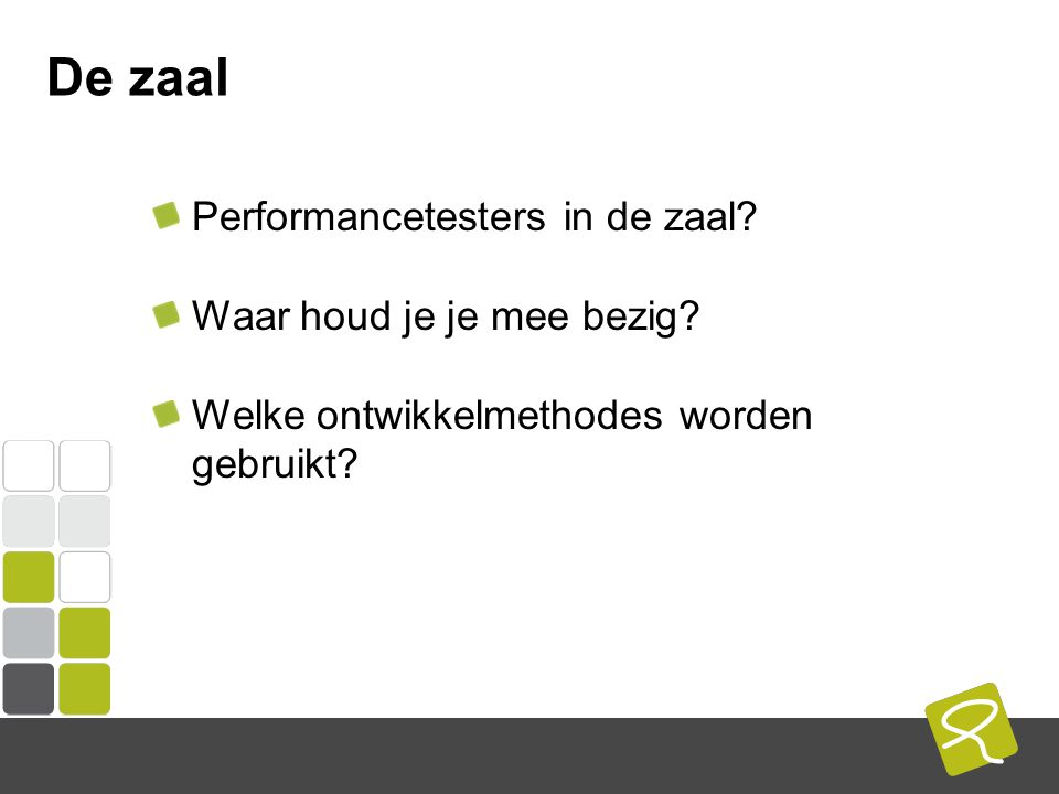 COMPUTEST BORREL – 2 Mei 2014 Agenda Performancetesten van nu Wat is Performance Assurance Waarom/Wanneer Performance Assurance Hoe richt je het in
