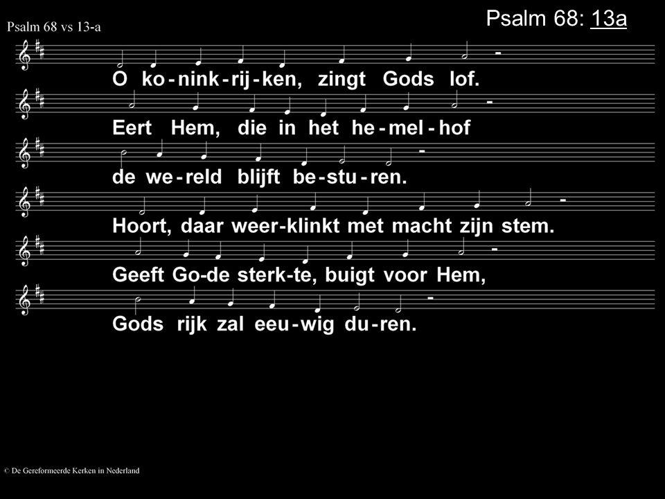 Psalm 68: 13a