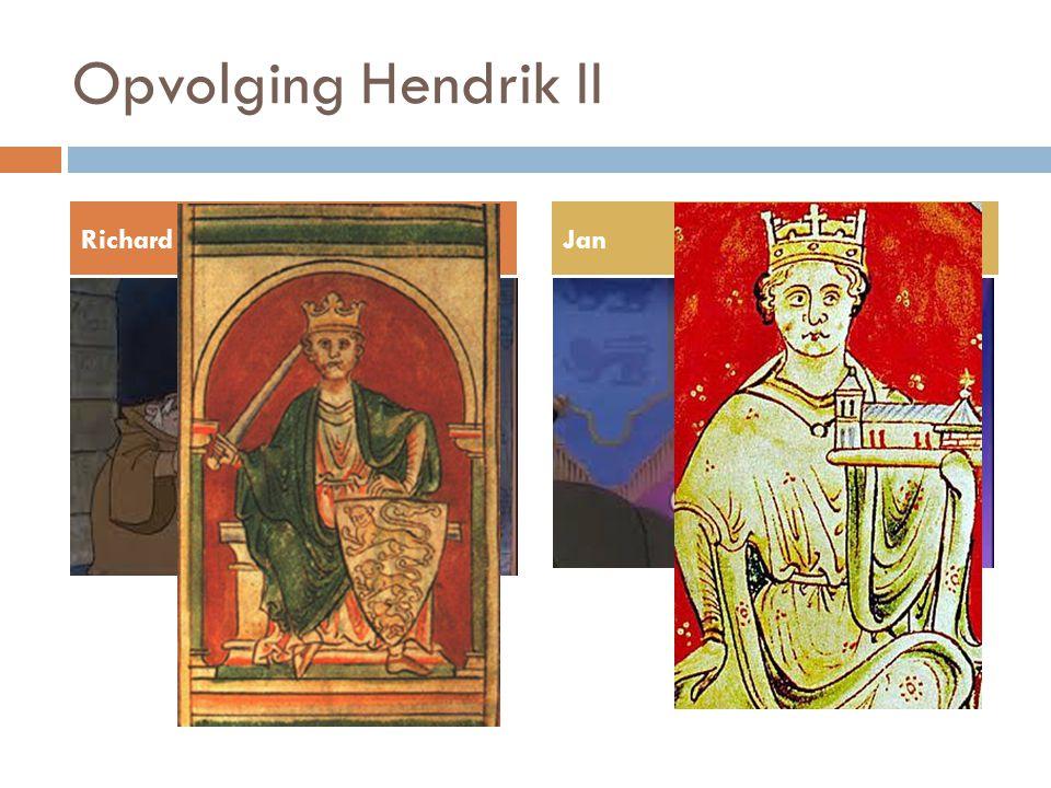 Opvolging Hendrik II RichardJan