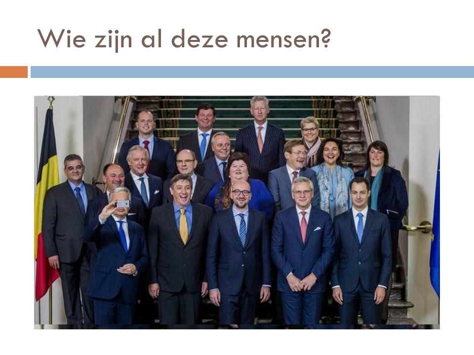 Wie zijn al deze mensen?