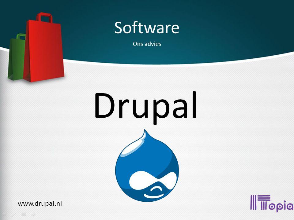 Software Ons advies Drupal www.drupal.nl