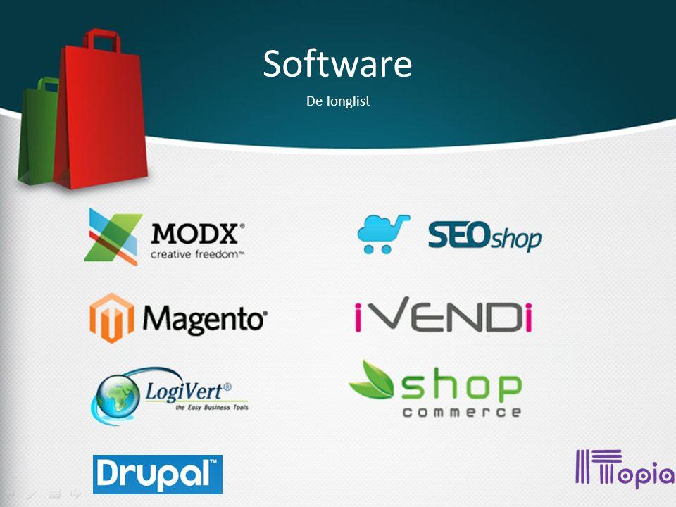 Software De shortlist