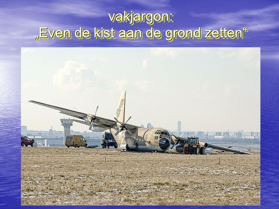 """vakjargon: """"Even de kist aan de grond zetten"""