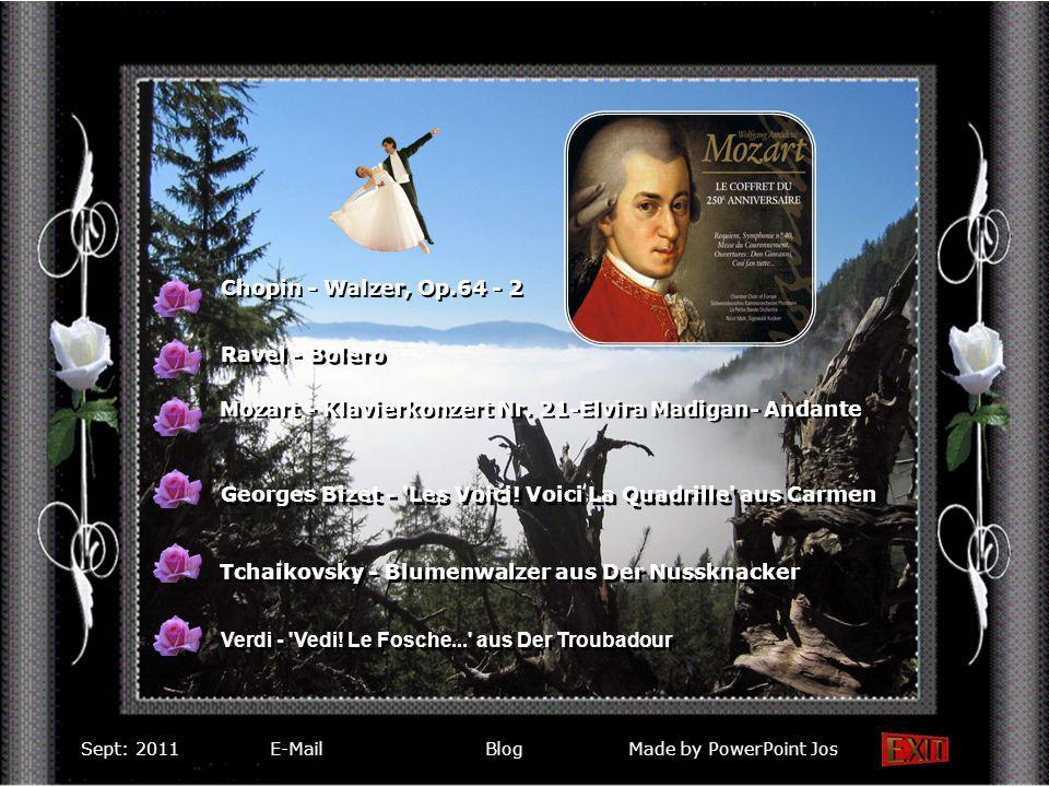 Chopin - Walzer, Op.64 - 2 Mozart - Klavierkonzert Nr.
