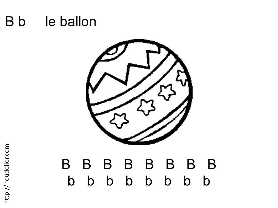 B b le ballon B B B B b b b b http://houdelier.com