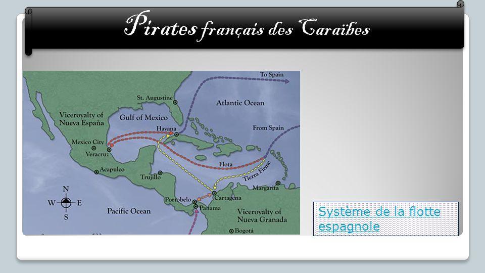 Système de la flotte espagnole Pirates français des Caraïbes