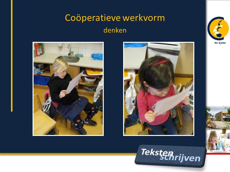 Coöperatieve werkvorm denken