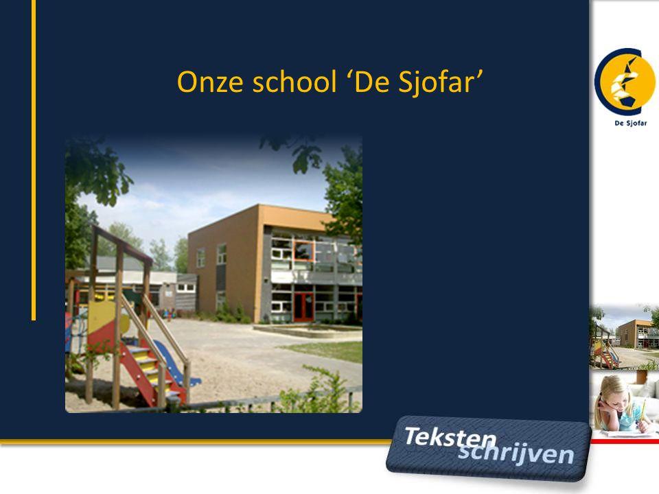 Onze school 'De Sjofar'