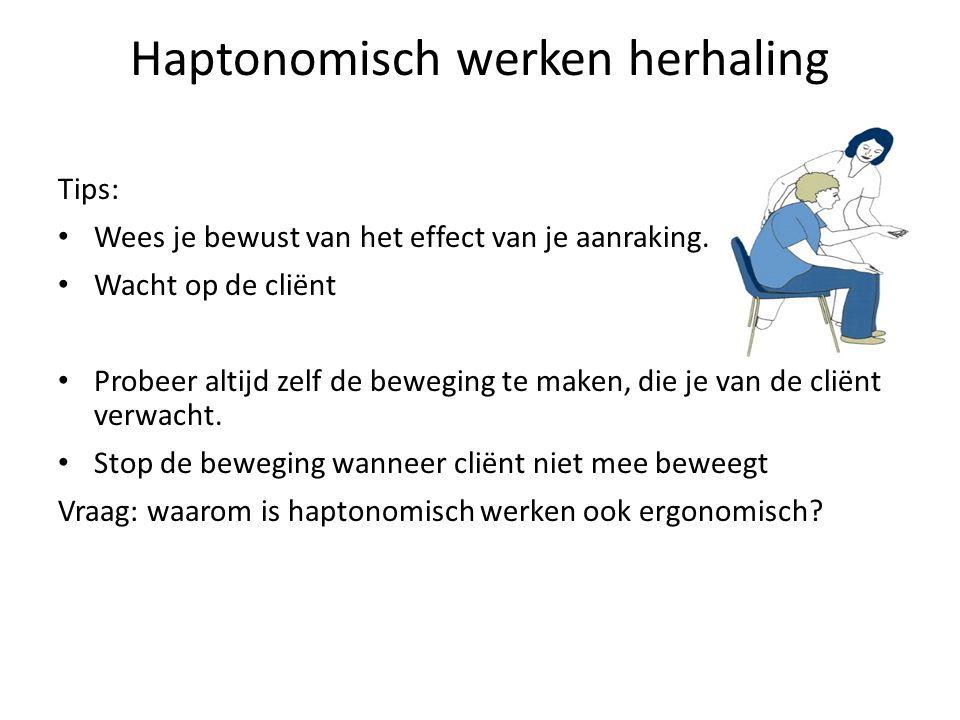 Vanuit de haptonomie; zie je verschillen.
