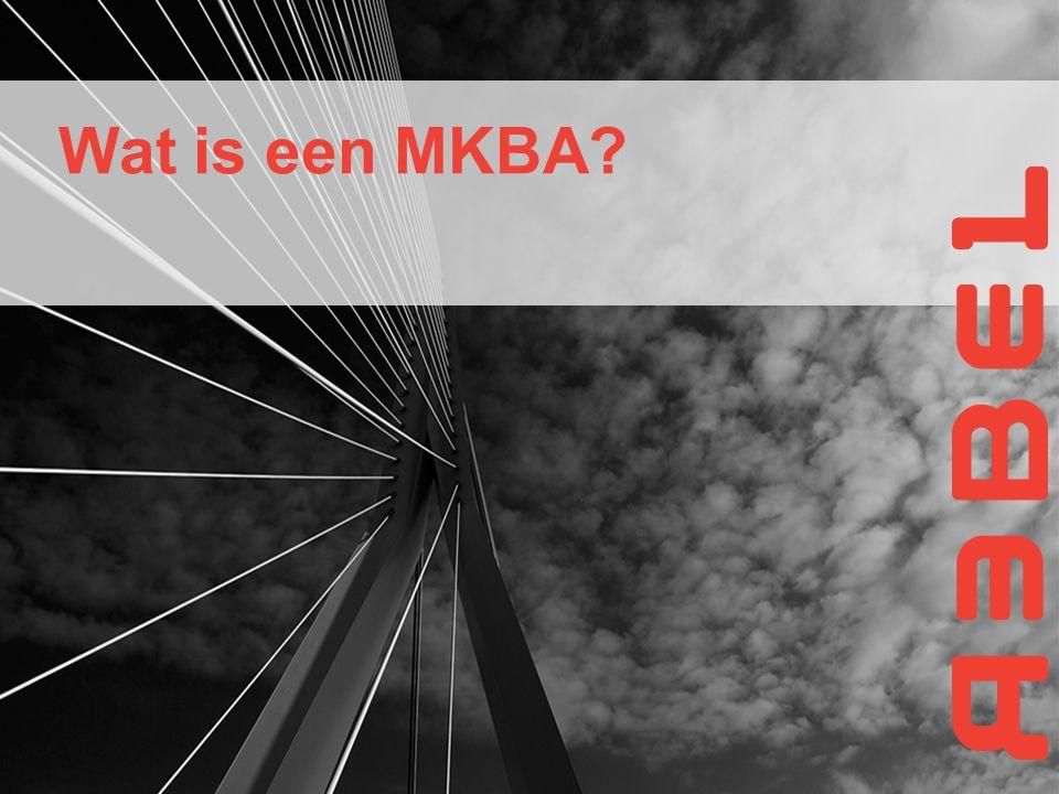 Wat is een MKBA?