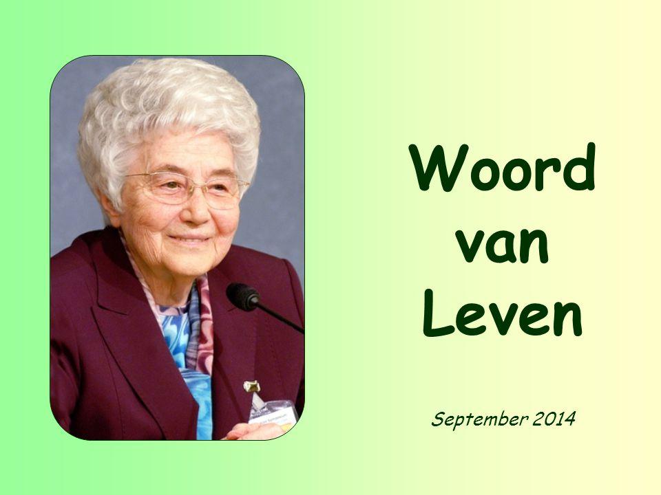 September 2014 Woord van Leven
