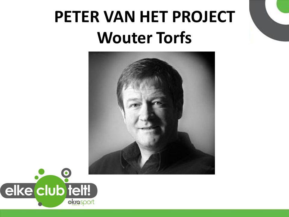PETER VAN HET PROJECT Wouter Torfs