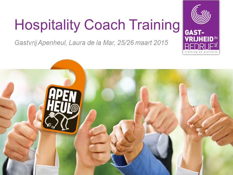 Hospitality Coach Training Gastvrij Apenheul, Laura de la Mar, 25/26 maart 2015