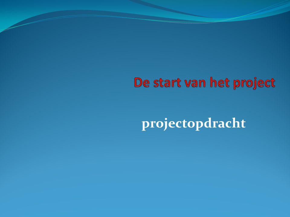 projectopdracht