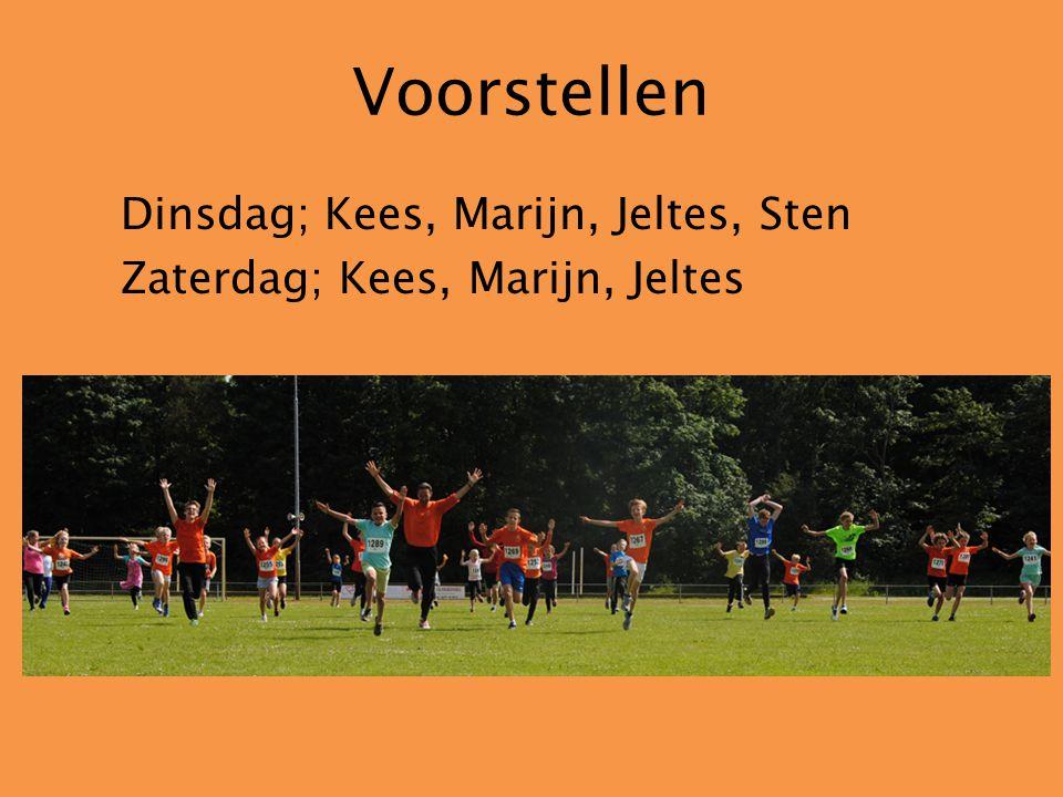 Trainers Kees Vrolijk Hoofdtrainer Sten van der Moer Assistent trainer Marijn van der Graaf Assistent trainer Jeltes de Weerd Assistent trainer