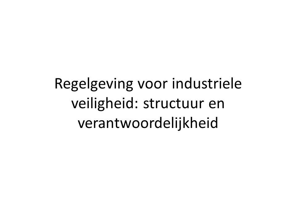 Regelgeving voor industriele veiligheid: structuur en verantwoordelijkheid