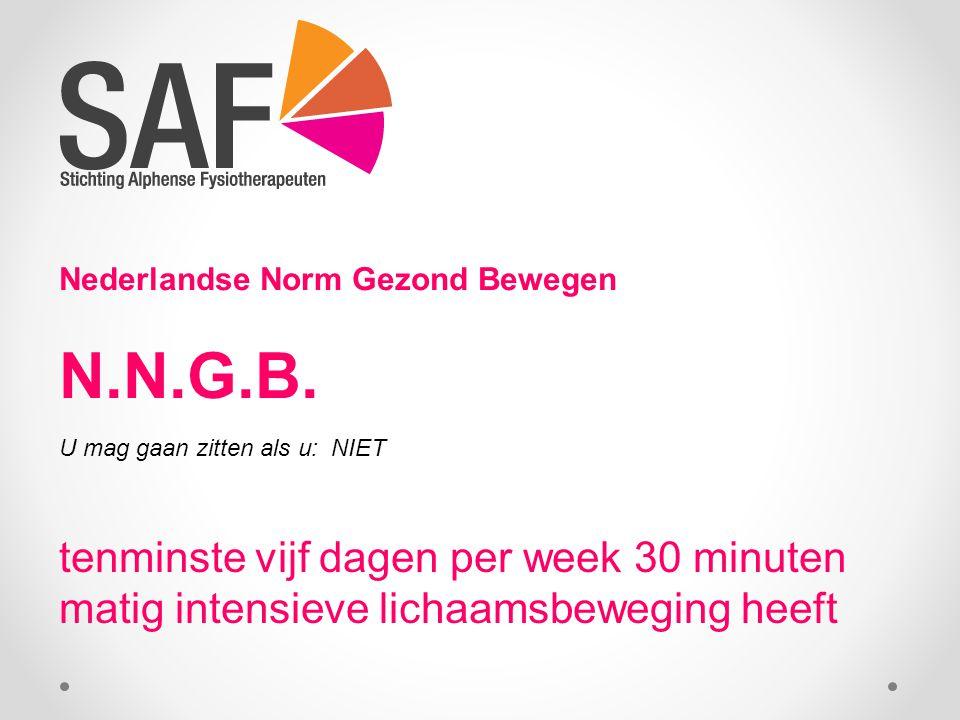 Nederlandse Norm Gezond Bewegen N.N.G.B.