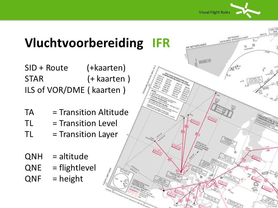 Elke landingsbaan heeft een standaard circuit.
