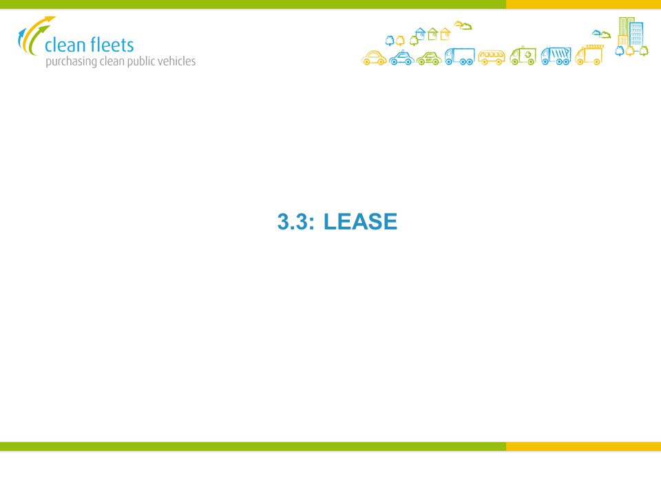 3.3: LEASE