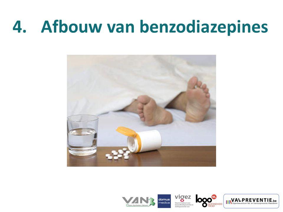 4.Afbouw van benzodiazepines