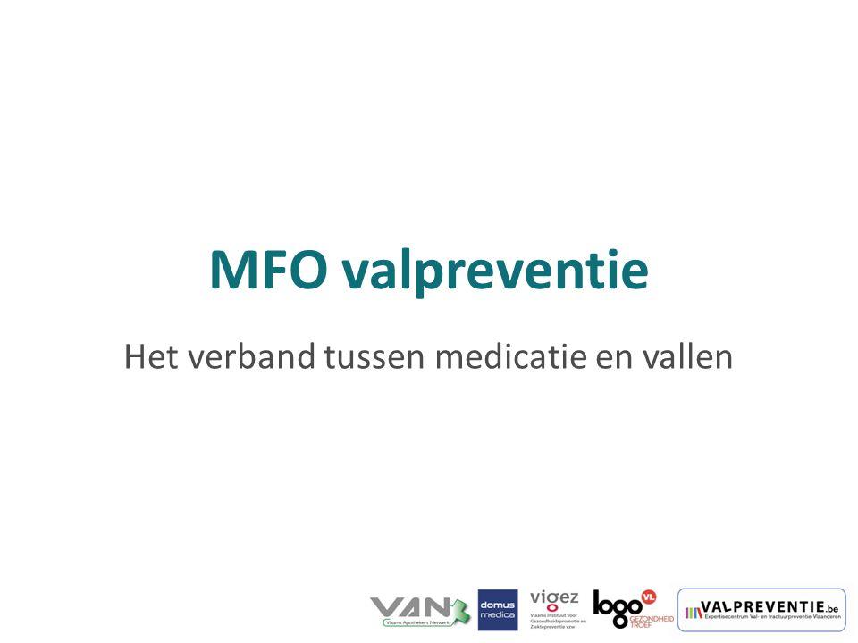 MFO valpreventie Het verband tussen medicatie en vallen
